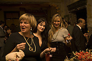 Princess Gloria von Thurn und Taxis with her daughters  Maria Theresia and Elizabeth.  SIMON de PURY AND THE PARTNERS OF PHILLIPS de PURY & COMPANY Host a dinner in honour of <br />