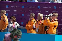 Team Netherlands:Van Der Heijden Maarten (NED), Hoogendoorn Arie (NED), Van Der Vleuten Eric (NED)<br /> Olympic Games London 2012<br /> © Dirk Caremans