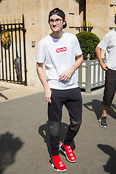 Rene-Charles Angelil, Celine Dion's son out and about on June 30, 2019 in Paris, France. Photo by Nasser Berzane/ABACAPRESS.COM  Candid Pap Planque  | 689901_006 Paris France