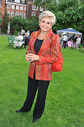 ANGELA RIPPON at The Lady Taverners 25th Anniversary Westminster Abbey Garden Party held in The College Gardens, Westminster Abbey, London o 11th July 2012.