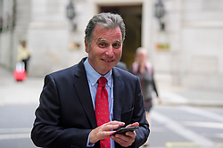 © Licensed to London News Pictures. 12/06/2017. London, UK. Conservative MP SIR OLIVER LETWIN seen in westminster. Over the weekend British prime minister Theresa May formed a new cabinet and continues discussions with the DUP in an attempt to form a new government. Photo credit: Ben Cawthra/LNP