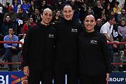 arbitro referee<br /> Italia Italy - Svezia Sweden<br /> FIBA Women's EuroBasket 2019 Qualifiers<br /> La Spezia, 21/11/2018<br /> Foto M.Ceretti / Ciamillo-Castoria