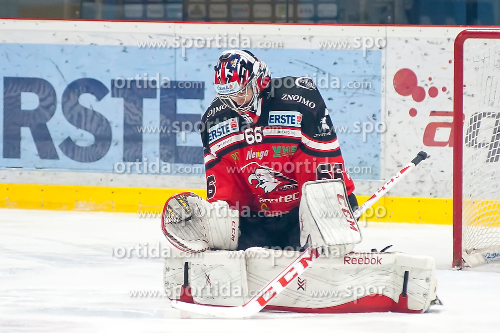18.12.2015, Ice Rink, Znojmo, CZE, EBEL, HC Orli Znojmo vs Moser Medical Graz 99ers, 32. Runde, im Bild Tomas Fucik ( HC Orli Znojmo) // during the Erste Bank Icehockey League 32nd round match between HC Orli Znojmo and Moser Medical Graz 99ers at the Ice Rink in Znojmo, Czech Republic on 2015/12/18. EXPA Pictures © 2015, PhotoCredit: EXPA/ Rostislav Pfeffer