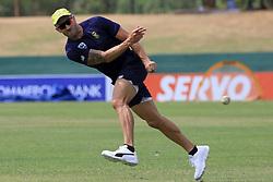 July 27, 2018 - Dambulla, Sri Lanka - South African cricket captain Faf Du Plessis  during a practice session ahead of the 1st One Day International cricket match against Sri Lanka at Rangiri Dambulla International Stadium, Dambulla, Sri Lanka on Saturday 28 July 2018  (Credit Image: © Tharaka Basnayaka/NurPhoto via ZUMA Press)