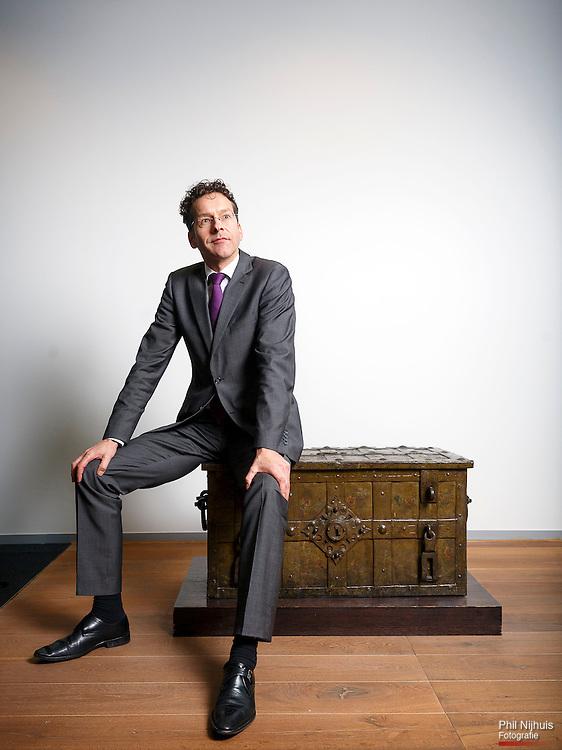 Den Haag, 11 december 2013 - Minister van Financien Jeroen Dijsselbloem.<br /> Foto : Phil Nijhuis