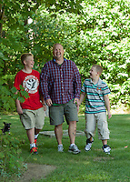 Keith, Alex and Max portrait session