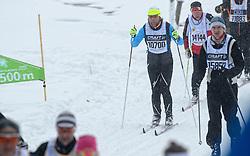 06-03-2016 SWE: Vasaloppet Challenge BvdGF day 7, Sälen<br /> Vandaag een rustig dagje, 90 km langlaufen van Sälen naar Mora in bizarre omstandigheden / Rolf
