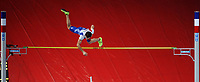 ATHLETICS - INDOOR EUROPEAN CHAMPIONSHIPS PARIS-BERCY 2011 - FRANCE - DAY 2 - 05/03/2011 - PHOTO : PHILIPPE MILLEREAU / DPPI - <br /> MEN'S POLE VAULT - FINAL - RENAUD LAVILLENIE (FRA) / GOLD MEDAL