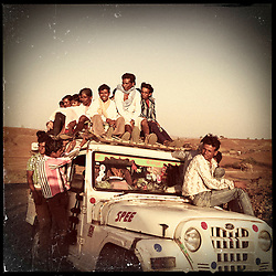 iPhone photo of daily life in the villages outside of Banswara, Rajasthan, India, April 5, 2013. Under Indian law, children younger than 18 cannot marry. Yet in a number of India's states, at least half of all girls are married before they turn 18, according to statistics gathered in 2012 by the United Nations Population Fund (UNFPA). However, young girls in the Indian state of Rajasthan—and even a few boys—are getting some help in combatting child marriage. In villages throughout Tonk, Jaipur and Banswara districts, the Center for Unfolding Learning Potential, or CULP, uses its Pehchan Project to reach out to girls, generally between the ages of 9 and 14, who either left school early or never went at all. The education and confidence-building CULP offers have empowered youngsters to refuse forced marriages in favor of continuing their studies, and the nongovernmental organization has provided them with resources and advocates in their fight.