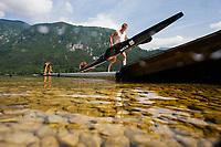 Kano / Padling<br /> Foto: Gepa/Digitalsport<br /> NORWAY ONLY<br /> <br /> BOHINJ,SLOVENIA,04.JUL.15 - CANOE - ECA Marathon European Championships. Image shows Jon Amund Vold (NOR).