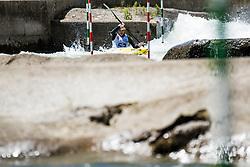 Peter Kauzer during Kayak Single (K1) Men race of Tacen Cup 2020 on May 24, 2020 in Tacen, Ljubljana, Slovenia. Photo By Grega Valancic / Sportida