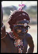 Samburu Warrior, Kenya, July, 2002