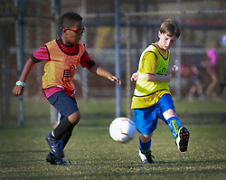 12 October 2013. Carrolton Boosters Soccer. New Orleans, Louisiana. <br /> U8 Elite try outs.<br /> Photo; Charlie Varley