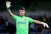 Burton Albion goalkeeper Kieran O'Hara during the EFL Cup match between Burton Albion and Bournemouth at the Pirelli Stadium, Burton upon Trent, England on 25 September 2019.