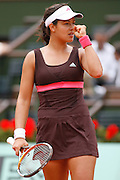 Roland Garros. Paris, France. June 7th 2007..1/2 Finals..Ana IVANOVIC against Maria SHARAPOVA ..