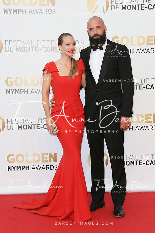 MONTE-CARLO, MONACO - JUNE 11:  Andrea Joy Cook aka A.J. Cook  attends the Closing Ceremony and Golden Nymph Awards of the 54th Monte Carlo TV Festival on June 11, 2014 in Monte-Carlo, Monaco.  (Photo by Tony Barson/FilmMagic)