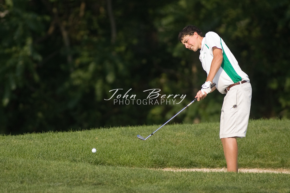 Golf Drops Pair of Matches.Friday, 07 September 2007.The Golf team lost a pair of matchs at the Greene Hills Golf Club yesterday. Madison (168) lost to William Monroe (150) and Spotswood (158). Kyle Louk shot a 9 hole round of 39 to lead the Mountaineers. Joe Canosa (40), Tyler Coppage (43) and Cory Hall (46) were the other low scorers for Madison (5-5). ..MCHS Golf.vs Greene and Spotswood.9/6/2007