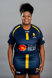 Tish Arne Wallace during the Worcester Warriors Women Media Day - Ryan Hiscott/JMP - 28/09/2019 - SPORT - Sixways Stadium - Worcester, England - Worcester Warriors Women Media Day