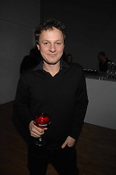 Artist JONATHAN YEO at the Art Plus Drama party Held at the Whitechapel Art Gallery, London E1 on 8th March 2007. <br />