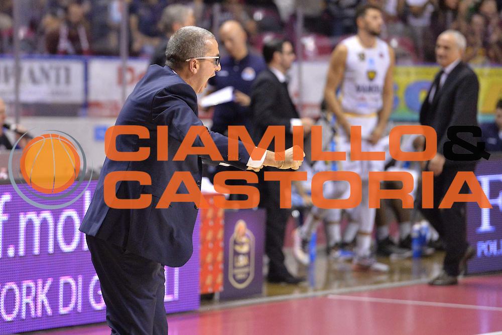 Walter De Raddaele<br /> Umana Reyer Venezia - Vanoli Cremona<br /> Lega Basket Serie A 2016/2017<br /> Venezia 30/10/2016<br /> Foto Ciamillo-Castoria