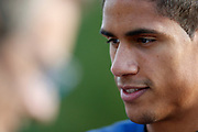 Raphael Varane during the training of the team of France before the FIFA World Cup qualifying football match between Bulgaria and France, on October 2, 2017 in Clairfontaine, France - Photo Benjamin Cremel / ProSportsImages / DPPI