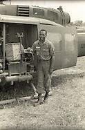 """Crewman """"Turk"""" of 121st Aviation, Soc Trang Tigers."""
