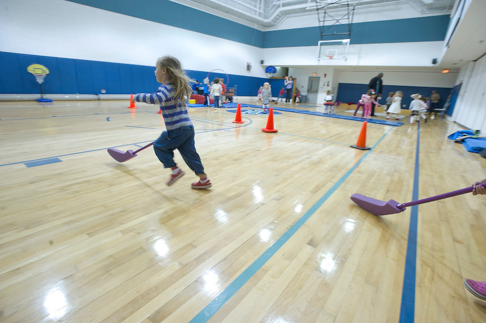 WASHINGTON (2010-2011) -- River School Kids, Cardinals in PE.  Photo by Johnny Bivera