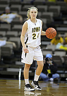 February 18, 2010: Iowa guard Jaime Printy (24) during the second half of the NCAA women's basketball game at Carver-Hawkeye Arena in Iowa City, Iowa on February 18, 2010. Iowa defeated Minnesota 75-54.