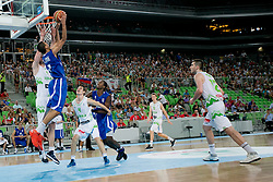Louis Labeyrle of France during basketball match between National teams of Slovenia and France in Quarterfinal Match of U20 Men European Championship Slovenia 2012, on July 20, 2012 in SRC Stozice, Ljubljana, Slovenia. (Photo by Matic Klansek Velej / Sportida.com)