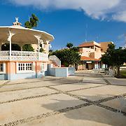Puerto Aventuras square.Puerto Aventuras, Quintana Roo..Mexico.