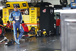June 1, 2018 - Long Pond, Pennsylvania, United States of America - Kevin Harvick (4) hangs out in the garage during practice for the Pocono 400 at Pocono Raceway in Long Pond, Pennsylvania. (Credit Image: © Justin R. Noe Asp Inc/ASP via ZUMA Wire)