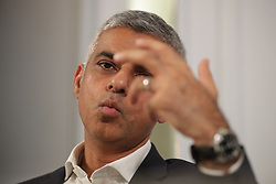 © Licensed to London News Pictures . 24/09/2017. Brighton, UK. London mayor  Sadiq Khan speaks at a fringe event at the Hilton Metropol Hotel during the first day of the Labour Party Conference in and around The Brighton Centre . Photo credit: Joel Goodman/LNP