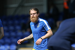 Stuart Sinclair of Bristol Rovers warms up - Mandatory by-line: Arron Gent/JMP - 19/04/2019 - FOOTBALL - Cherry Red Records Stadium - Kingston upon Thames, England - AFC Wimbledon v Bristol Rovers - Sky Bet League One