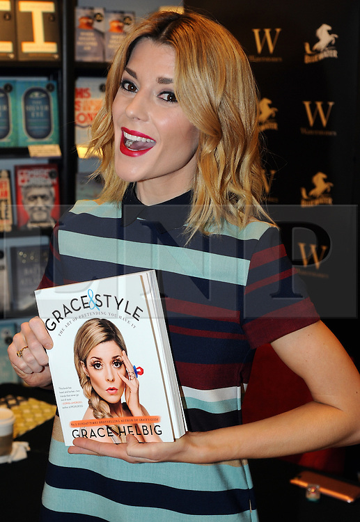 "© Licensed to London News Pictures. 20/02/2016<br /> <br /> Grace Helbig Comedian,actress,author and YouTube personality at Waterstones book store Bluewater,Greenhithe,Kent to meet hundreds of fans who have come to buy her new book  ""Grace&Style"".<br />  <br />  (Byline:Grant FalveyLNP)"
