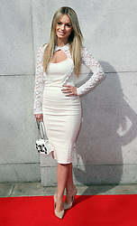 Ola Jordan  arriving at the Tesco Mum of the Year awards in  London, Sunday, 23rd March 2014. Picture by Stephen Lock / i-Images