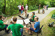 Artosphere trail concert series on Sunday, June 1, 2014, in Fayetteville, Arkansas. Photo by Beth Hall