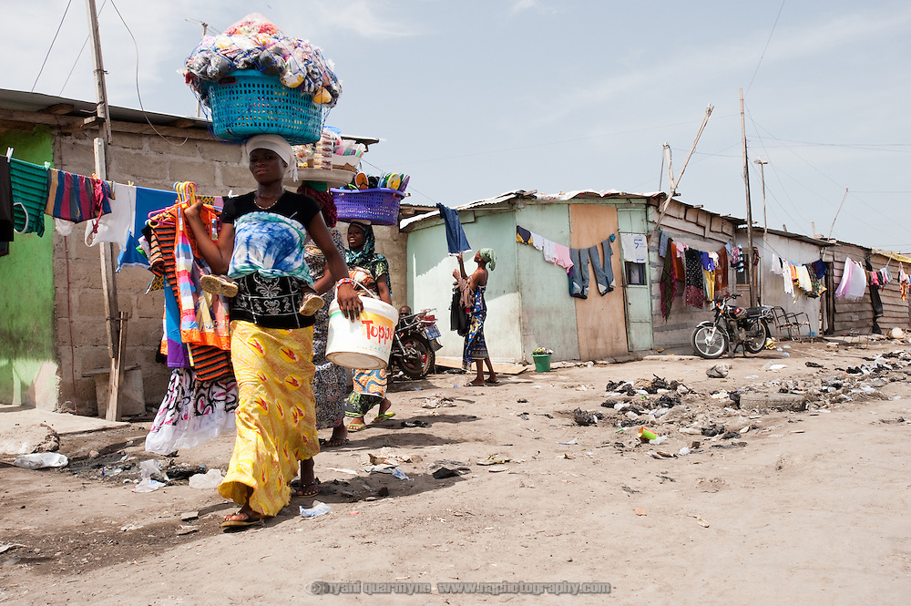 Colloquially referred to as 'Sodom and Gomorrah, Old Fadama is located in Ghana's capital Accra and is home to some some 80,000 people.