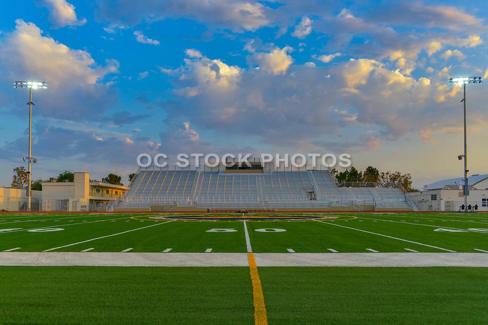 Football Stadium Bleachers at Garden Grove High School