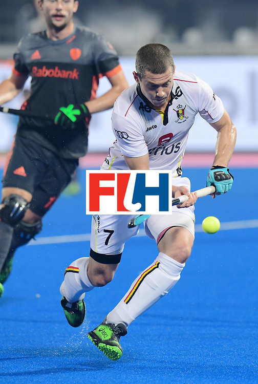 Odisha Men's Hockey World League Final Bhubaneswar 2017<br /> Match id:12<br /> Belgium v Netherlands<br /> Foto: John-John Dohmen (Bel) <br /> COPYRIGHT WORLDSPORTPICS FRANK UIJLENBROEK