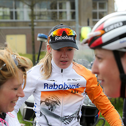 16-04-2016: Wielrennen: IJsseldelta Topcompetitie vrouwen: Zwolle<br />ZWOLLE (NED) wielrennen Wind was in deze editie de grootste tegenstanders van de vrouwen.<br />Anna van der Breggen schreef voor de derde keer de omloop vna de Ijsseldelta op haar naam
