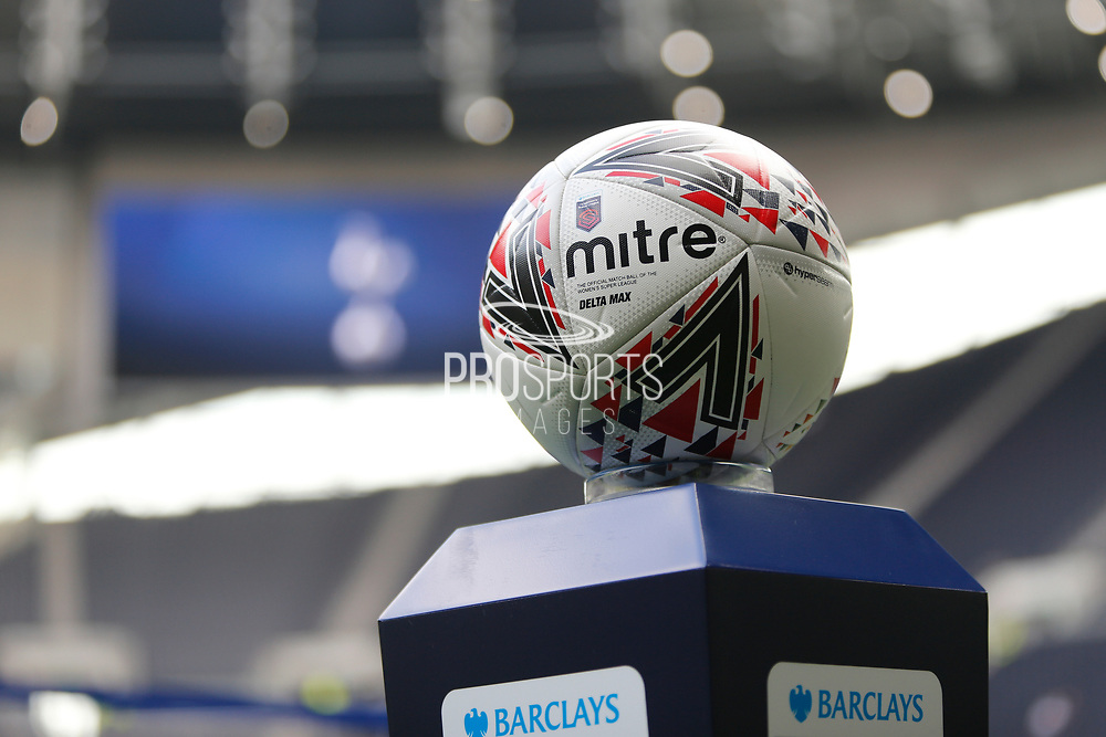 Match Ball before the FA Women's Super League match between Tottenham Hotspur Women and Arsenal Women FC at Tottenham Hotspur Stadium, London, United Kingdom on 17 November 2019.
