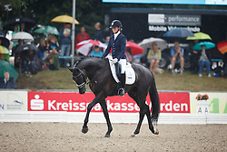 Van Der Putten Marieke, (NED), El Capone 5<br /> First Qualifier 6 years old horses<br /> World Championship Young Dressage Horses - Verden 2015<br /> © Hippo Foto - Dirk Caremans<br /> 07/08/15