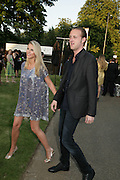 PETRINA KHASSHOGGI AND LORD EDWARD CHURCHILL, The Summer Party in association with Swarovski. Co-Chairs: Zaha Hadid and Dennis Hopper, Serpentine Gallery. London. 11 July 2007. <br /> -DO NOT ARCHIVE-© Copyright Photograph by Dafydd Jones. 248 Clapham Rd. London SW9 0PZ. Tel 0207 820 0771. www.dafjones.com.