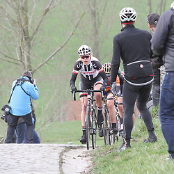25-02-2017: Wielrennen: Omloop Het Nieuwsblad: Gent  <br />GENT (BEL) wielrennen  <br />Ellen van Dijk on the Paterberg