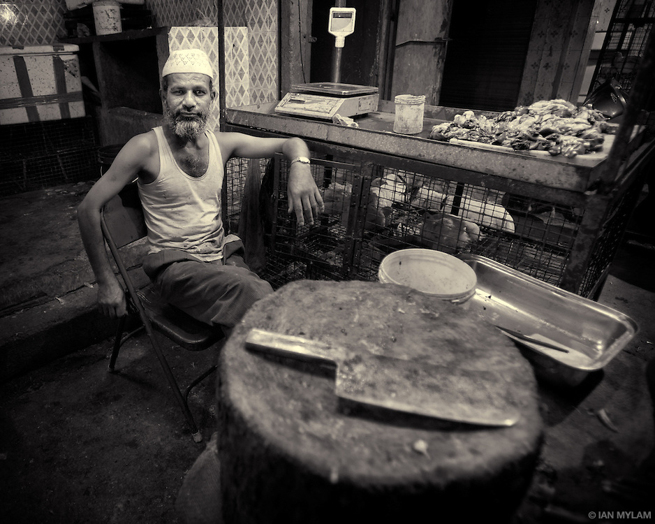 Butcher and Meat Cleaver - Bangalore, India