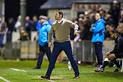 Havant & Waterlooville manager Lee Bradbury during the Vanarama National League match between Maidenhead United and Havant & Waterlooville FC at York Road, Maidenhead, United Kingdom on 26 March 2019.