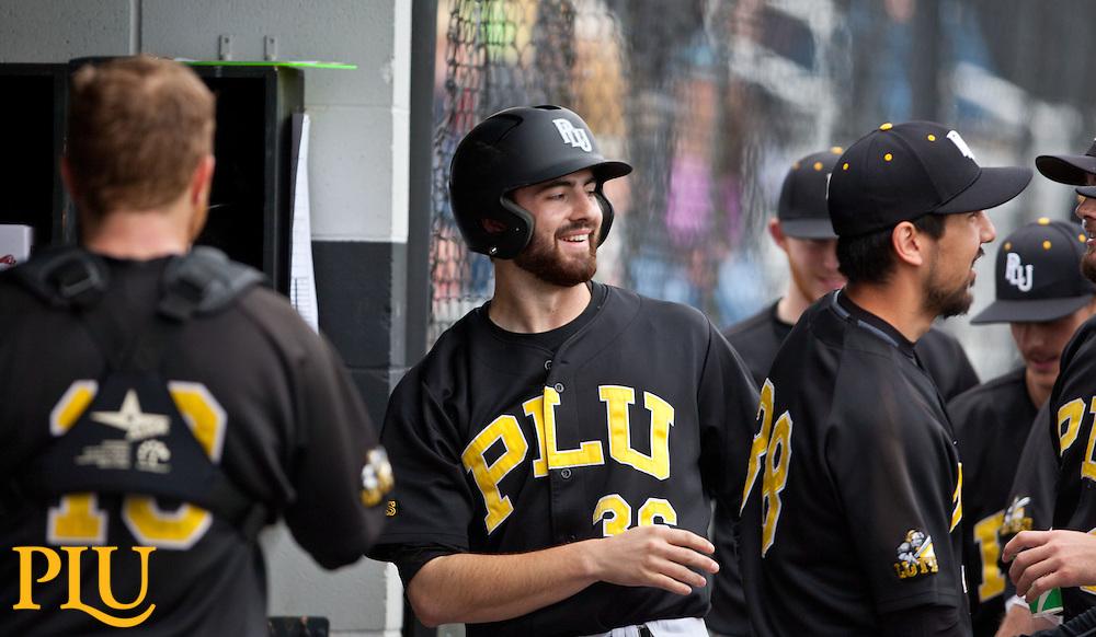Baseball PLU vs. UPSat PLU on Wednesday, March 18, 2015. (Photo: John Froschauer/PLU)
