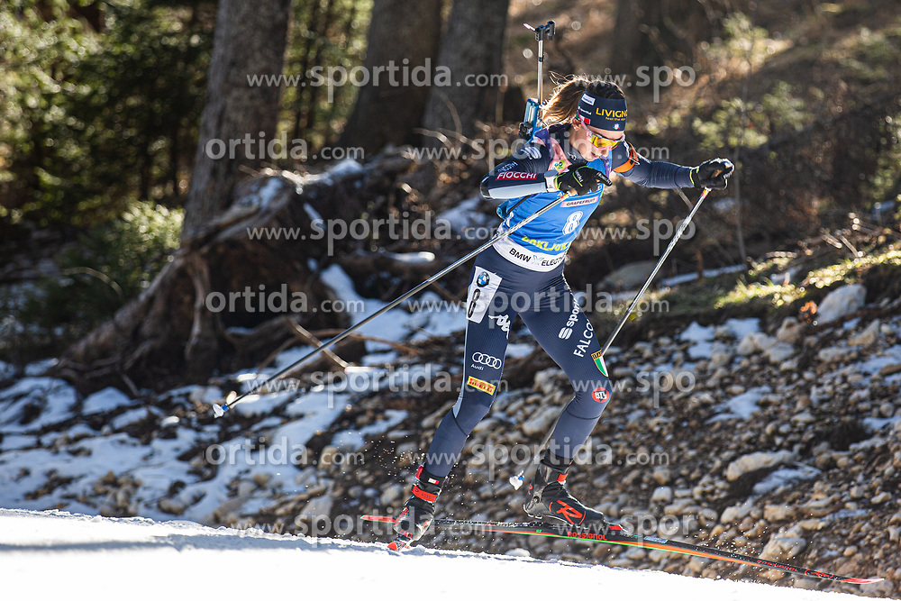 Lisa Vittozzi (ITA) during the Women 15 km Individual Competition at day 2 of IBU Biathlon World Cup 2019/20 Pokljuka, on January 23, 2020 in Rudno polje, Pokljuka, Pokljuka, Slovenia. Photo by Peter Podobnik / Sportida