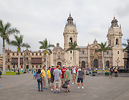 The Basilica Cathedral in Lima