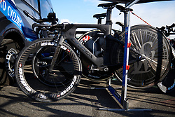 WNT Rotor Pro Cycling at Healthy Ageing Tour 2019 - Stage 4A, a 14.4km individual time trial starting and finishing in Winsum, Netherlands on April 13, 2019. Photo by Sean Robinson/velofocus.com